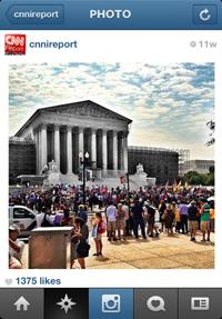 Instagram in Newsrooms